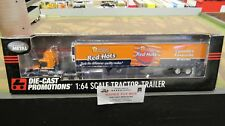 DCP #32145 SCHNEIDERS RED HOTS  VOLVO SEMI DAY CAB TRUCK REEFER TRAILER 1:64 FC