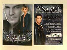 CHEAP PROMO CARD: Angel Season 4 Inkworks 2003 #A4-2 ONE SHIP FEE PER ORDER
