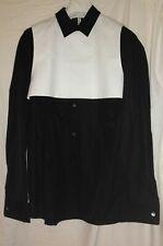 MAISON MARGIELA (1) LADIES BLACK AND WHITE SHIRT - SIZE UK 8 IT 40