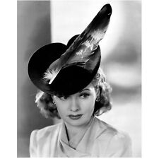 Lucille Ball Close Up Posing in Neat Hat with Big Eyes 8 x 10 Inch Photo