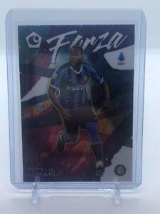2019-20 Panini Chronicles Soccer Romelu Lukaku Forza SSP Case Hit Inter Milan
