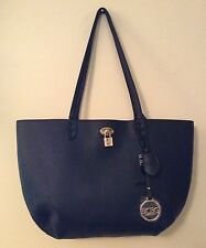 NEW BCBG Paris Designer Large Black Shopper Tote Retails $168