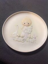 Precious Moments~Plate~E2347~Let Heaven and Nature Sing - #06053