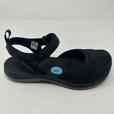 Merrell Select Grip Q Form 2 Womens Sz 5 Black Ankle Strap Hiking Sandal