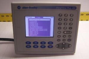 ALLEN BRADLEY 2711P-K4M20A /C PANELVIEW PLUS 400 TOUCHSCREEN 100/240 VAC