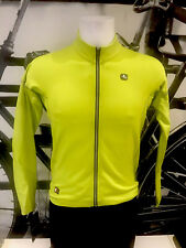 Giordana Cycling Long Sleeve Jersey FR-C PRO Thermal |Mens-Acid Yellow|BRAND NEW