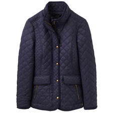 Joules Newdale Quilted Womens Jacket Synthetic Fill - Marine Navy All Sizes 8 Reg