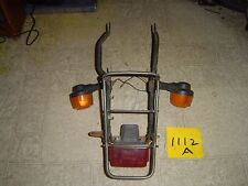 1982 YAMAHA TOWNY MR50 REAR RACK, TAIL LIGHT AND BLINKERS