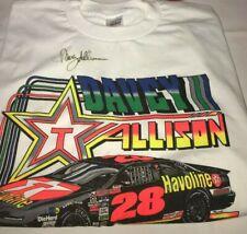 Davey Allison autographed TEXACO STAR HAVOLINE RACING NOS NWOT VIBRANT shirt HOF