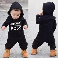 Newborn Infant Baby Boy Kid King Romper Jumpsuit Bodysuit Clothes Outfits