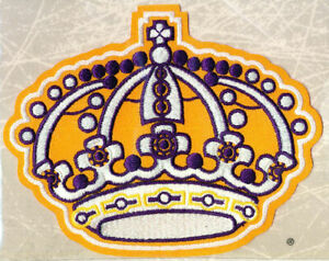 1980 LOS ANGELES KINGS ~ Willabee & Ward NHL THROWBACK HOCKEY PATCH ~ Patch Only
