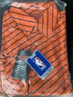 New York Knicks Knickerbockers NBA Basketball Headmaster LG Button Up Shirt