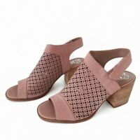 Vince Camuto Kanito Sandal Heather Rose bootie shoes slingback pink womens 8..5