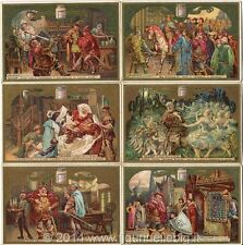 Chromo Liebig Sang. 377 ITA Falstaff (di William Shakespeare) ANNO 1893