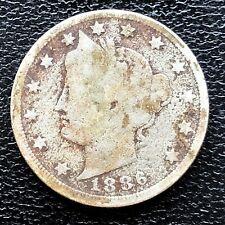1886 Liberty Head Nickel 5c Better Grade Dark #19930