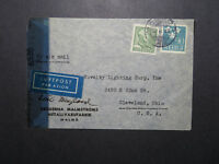 Sweden 1945 Censor Cover to USA - Z12028