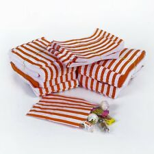 25 Red Candy Stripe Sweet/Gift Wedding Party Paper Bags - 7'' x 9''