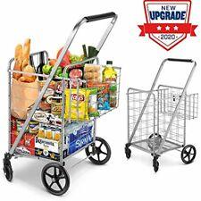 carrito carrocompras supermercado plegable Dolly 110 libras cosas pesadas