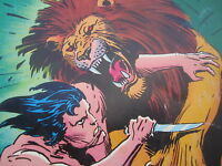 Comic Book Return of Tarzan o/t Apes Edgar Rice Burroughs Dc Limited Edition '74