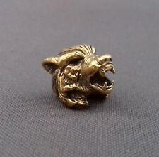 Grano De Bronce Viking Coleccionables Paracord Cuero Cordón Perlas de metal fundido a mano//