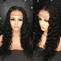 Pre-Plucked Brazilian Human Hair Wigs Full Lace Wig-Lace Front Wigs Glueless