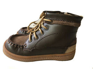 LN Unisex Shoes Boots Livie & Luca Toro Mocha Brown 7