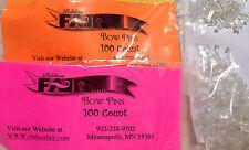 200 Bow Pins FOR Ribbon Magic, Bowmaster, 3M Ribbon Fair BOW MAKERS