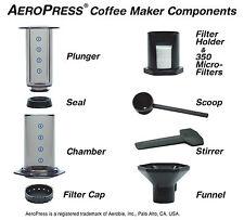 Aerobie Aeropress Coffee Maker with BaristaKit Reusable S/S Filter - Free P&P