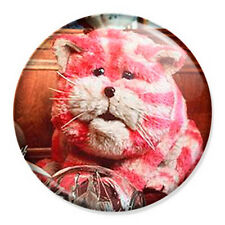 """Bagpuss 25mm 1"""" Pin Badge Button Retro Mouse TV"""