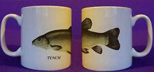 Tench coarse fishing angling mug personalised