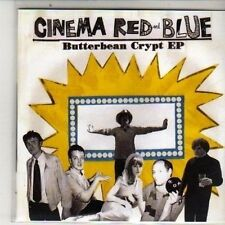 (DB99) Cinema Red And Blue, Butterbean Crypt EP - 2010 DJ CD