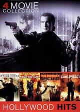4 Movie Collection - Steven Seagal, Dolph Lundgren, Val Kilmer (DVD 2012) Action