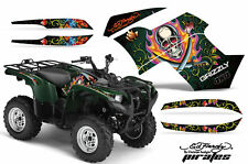 AMR ATV GRAPHICS DECAL KIT GRIZZLY 700 550 FI ED HARDY