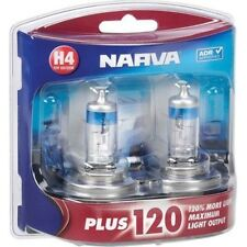 Narva Plus 120 Globes (Twin Pack) - H4