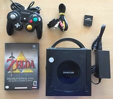 Nintendo GameCube Black Console Zelda Collectors Edition Bundle Ocarina Majoras