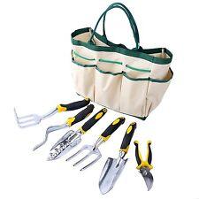 7 Piece  Garden Tool Set Durable Aluminum Alloy Tools  with 6 Heavy Duty durable