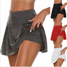 Women's Sport Shorts Skirt High Waisted Gym Yoga Shorts Stretch Mini Skirt Dress