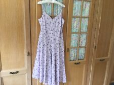 Ladies 100% Linen Dress Size 16 By Austin Reed Lovely Colour & Fit V Flattering.