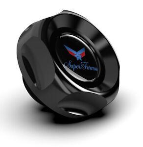 BILLET BLACK V2 OIL FILLER CAP fits NISSAN SKYLINE 200SX R32 R33 R34 S14 S15