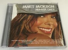 Icon By Janet Jackson Number Ones CD 2010 Nasty Miss You Much Escapade Make Me