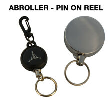 2 stücke Fliegenfischen Werkzeuge Zinger Retractor Metall Einziehbare