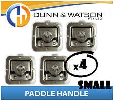 Small Paddle Handle (Lock, Latch) x4 Camper Trailer, Caravan, Toolbox, Motorhome