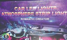 New listing Car Led Strip Light, Ej's Super Car 4pcs 36 Led Multi-color Car Interior Lights