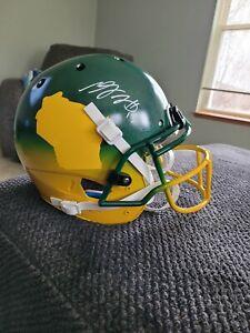 Davante Adams Full-Size, Authentic Autographed Helmet