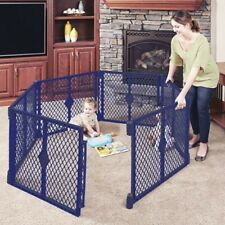 Toddleroo by North States Superyard Classic 6-Panel Play Yard, Portable Indoor-O