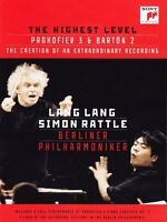Lang Lang The Highest Level Blu-Ray Scellé / Neuf Simon Rattle Bartok Prokofiev