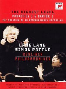LANG The Highest Level Blu-ray SEALED/NEW Simon Rattle Bartok Prokofiev