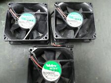 (Lot of 3) Nidec M33412-16 12V Computer Case Fans 80mm NO RGB Free Priority Ship