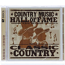 Country Music Hall Of Fame and Museum Classic Country 1950-1959 NEW SEALED