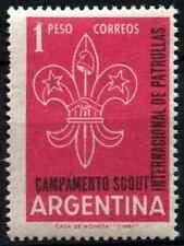Argentina 1961 SG#1003 Scout Jamboree MNH #D33052